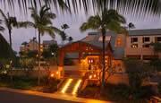 Courtyard at Coconut Beach Kauai
